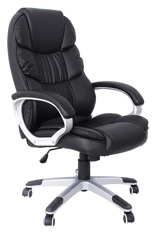 chaise de bureau songmics OBG24B